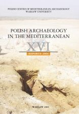 Polish Archaeology in the Mediterranean 16 Reports 2004