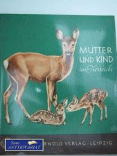 Książka - MUTTER UND KIND IN TIERREICH