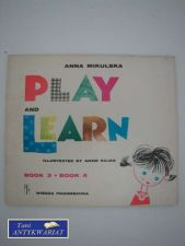 Książka - PLAY AND LEARN